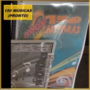 Apostila com 150 Partituras Populares com CD de Playbacks (150 Premium )