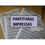 Apostila Partituras Sertanejo e Forró Impressas com Áudios em CD ( Luiz Gonzaga)