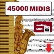 45000 Midis Teclado Yamaha Roland Korg Casio Karaoke