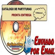Catálogo de Partituras Evangélicas Listagem para escolha | Venda de Partituras de Músicas Gospel Playbackk Mp3 (R$35 unidade ou Promocional Pacote 10 Partituras) Teclado Sax Violino Trompete Flauta