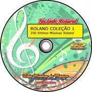 Coleção Roland Ritmos de Músicas Específicas - Coleção 1 com 250 Ritmos para Roland