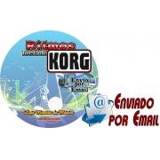 Download de Ritmos para Teclados Korg PA 50, PA 500, PA 600 | Coleção 1 com 150 Ritmos para Teclado Korg PA