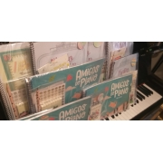 Kit Básico com Livro de Músicas das Aulas de Teclado e Piano Online com a Professora Luciane Borges ( PRIMEIRO SEMESTRE )