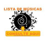 Lista de Partituras de Samba e Partituras de Pagode com Playbacks por encomenda (Consulte sua m�sica