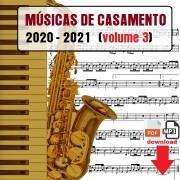 Músicas Casamento 2021 Volume 3 Partituras Playbacks