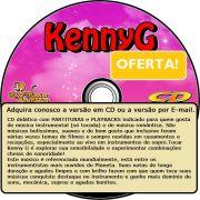 Partituras de Kenny G com Playbacks de Kenny G em CD Promo��o