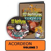 Partituras de músicas para Acordeon Volume 3