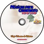 Partituras para Casamento Playbacks Vol 3 em CD