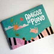 PIANO LIVRO AMIGOS DO PIANO PRÉ LEITURA Maria Helena e Angelita