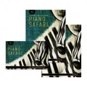 PIANO SAFARI NIVEL 2 ( Livro de Repertório + Livro de Técnicas + Cartas de Leitura à primeira vista e Ritmo + Faixas de Áudio ) na Loja Mineira do Músico