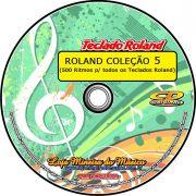 Ritmos Roland Coleção 5 ( 500 Ritmos compatíveis com todos os modelos da Roland )