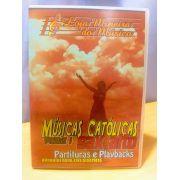 SAX ALTO Músicas Católicas Partituras Midis e Playbacks (Volume 1) |  SAX ALTO Católico Partituras + Midis + Playbacks | Sax Alto Partituras Católicas atuais e acompanhadas de Áudios MP3 de Estúdio