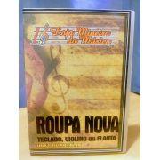 VIOLINO ROUPA NOVA Partituras com Playbacks de Roupa Nova Mp3, Midis e PDFs | Roupa Nova Partituras para Violino Partituras de músicas de Roupa Nova, com cifras e melodias para fins didáticos estudant