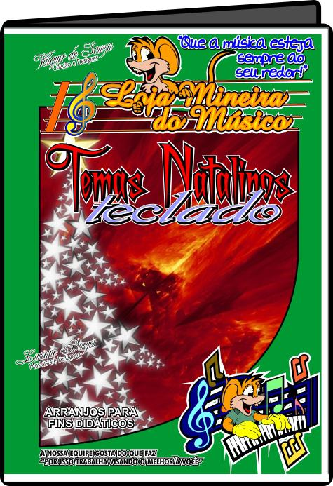 Teclado Partituras de Natal com Midi e MP3 Playbacks Natalinos