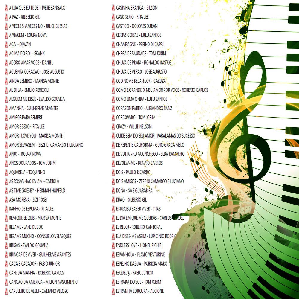 200 Partituras Românticas Midis e Playbacks (E-mail)