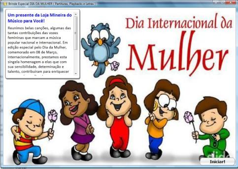 DIA DA MULHER PARTITURA e DIA DAS MÃES PARTITURA Partituras MPB Internacionais  C Bb Eb