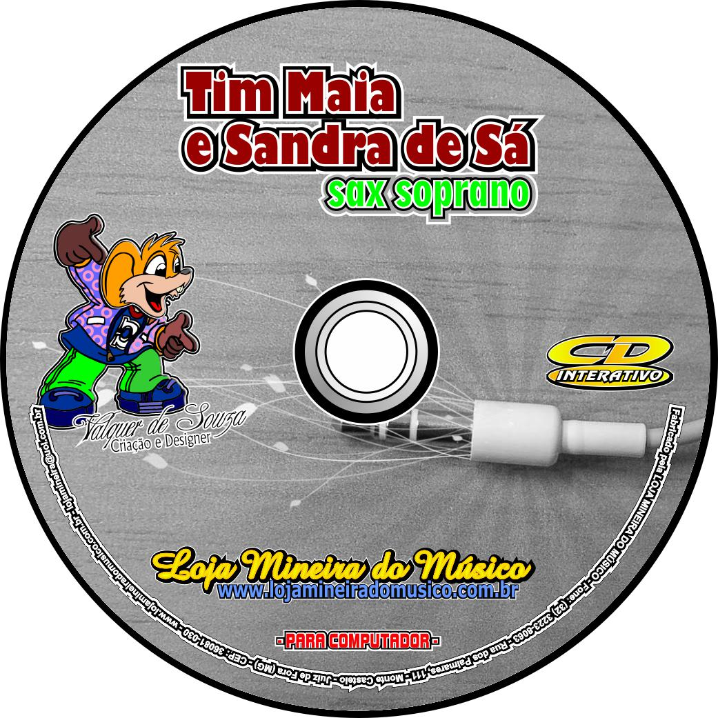 SAX TENOR ou SOPRANO Partituras de Tim Maia e Sandra de Sá Playbacks MP3 e Midis