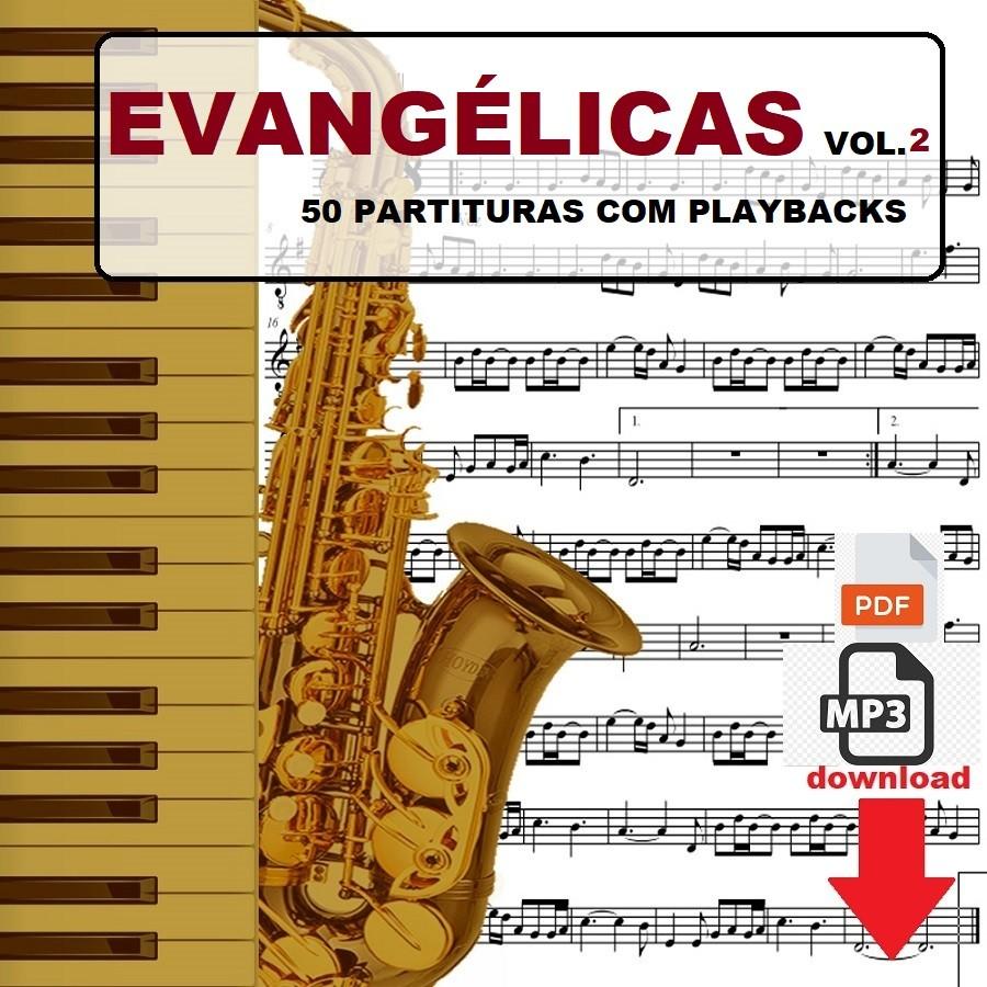 50 Partituras Evangélicas 50 Playbacks Vol.2
