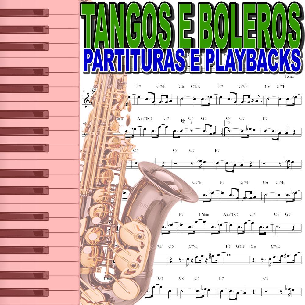 50 Valsas Tangos Boleros Partituras Midis e Playbacks