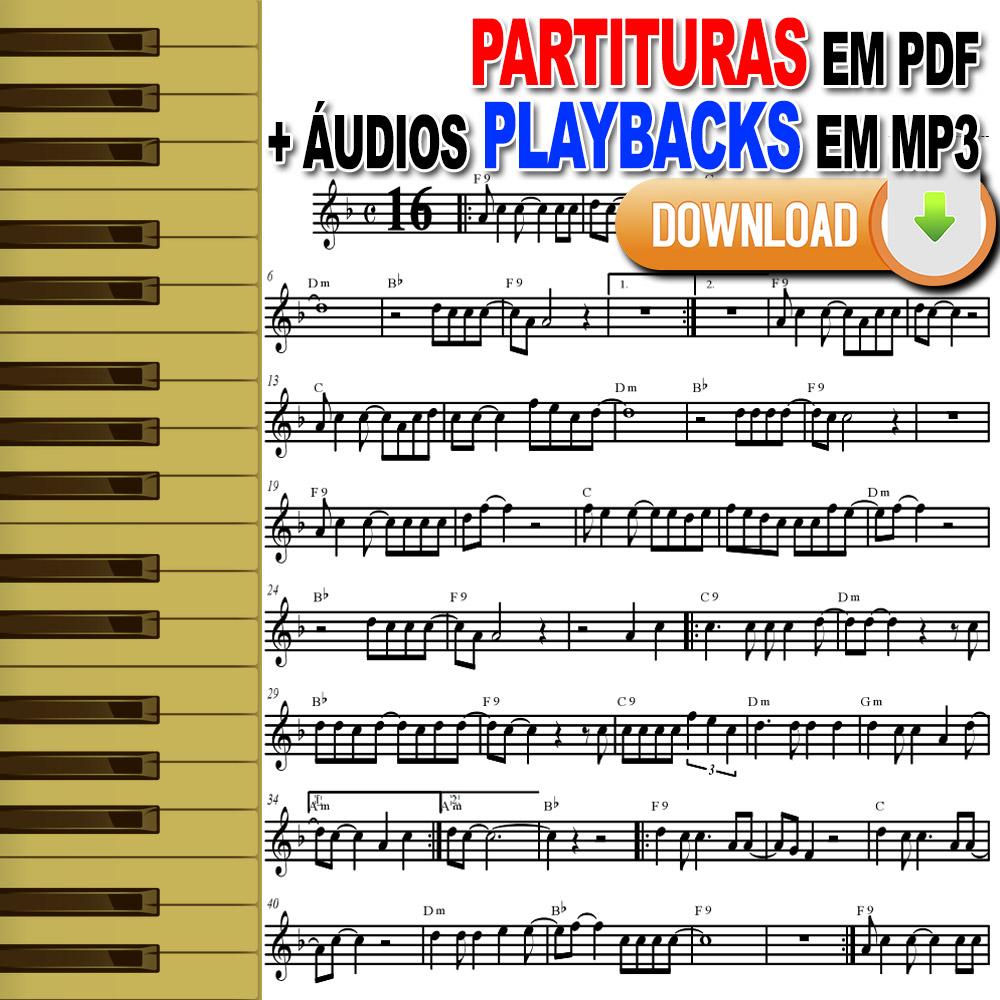 60 Gospel Partituras com Playbacks Gospel Envio pela internet Download
