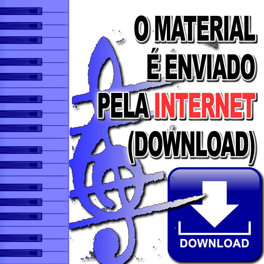 80 partituras internacionais Loja Mineira do Músico com MP3