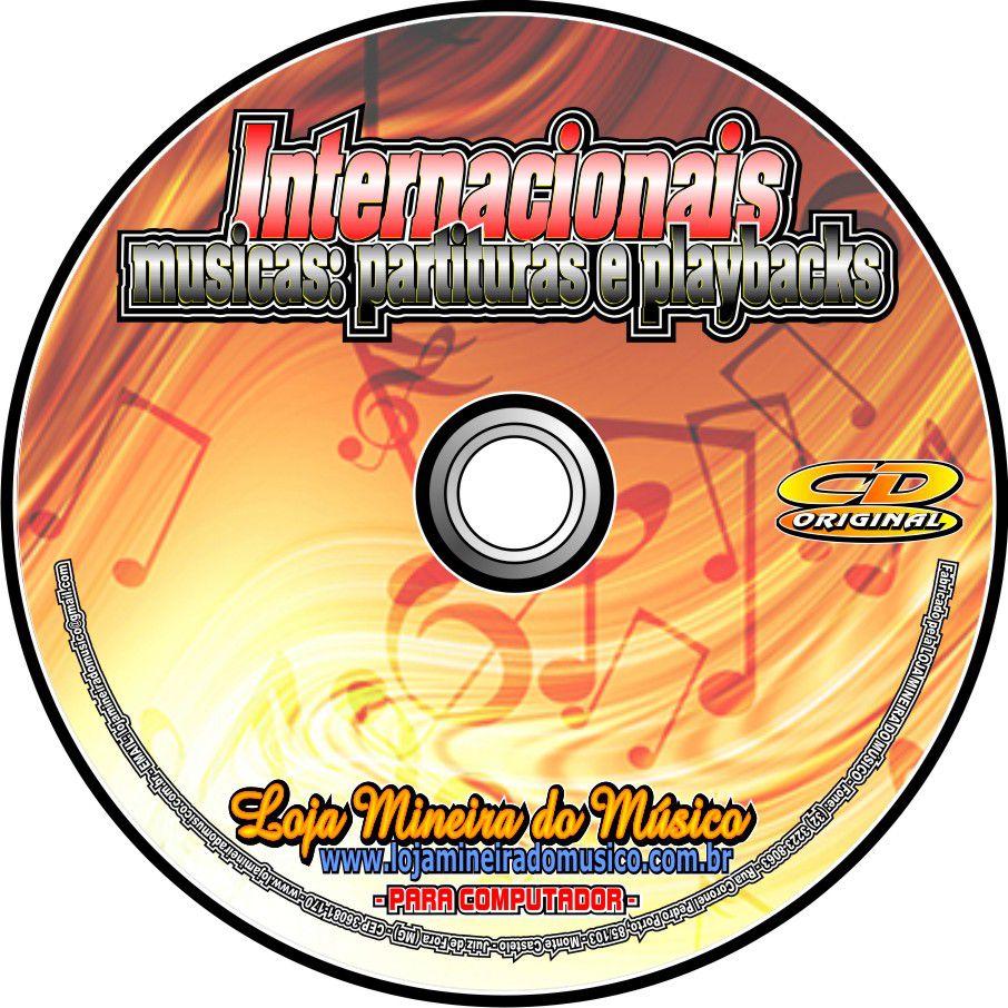80 Partituras Internacionais para Trompete ou Clarinete com Playbacks Internacionais | Partitura para trompete em si bemol |