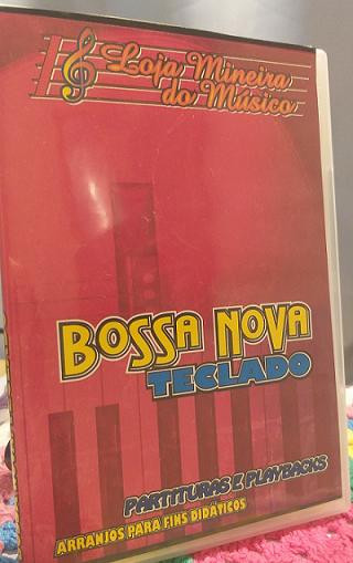 BOSSA NOVA e SAMBA Teclado Partituras de Bossa Nova e Sambinhas Facilitadas com Playbacks