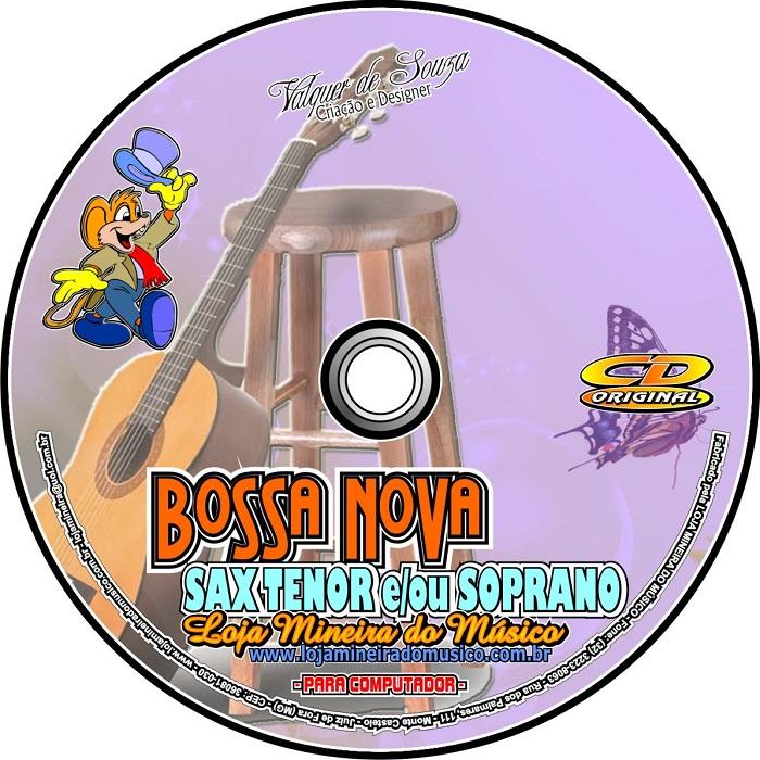 BOSSA NOVA e SAMBA Sax Tenor Sax Soprano Partituras e Playbacks Sax Bb