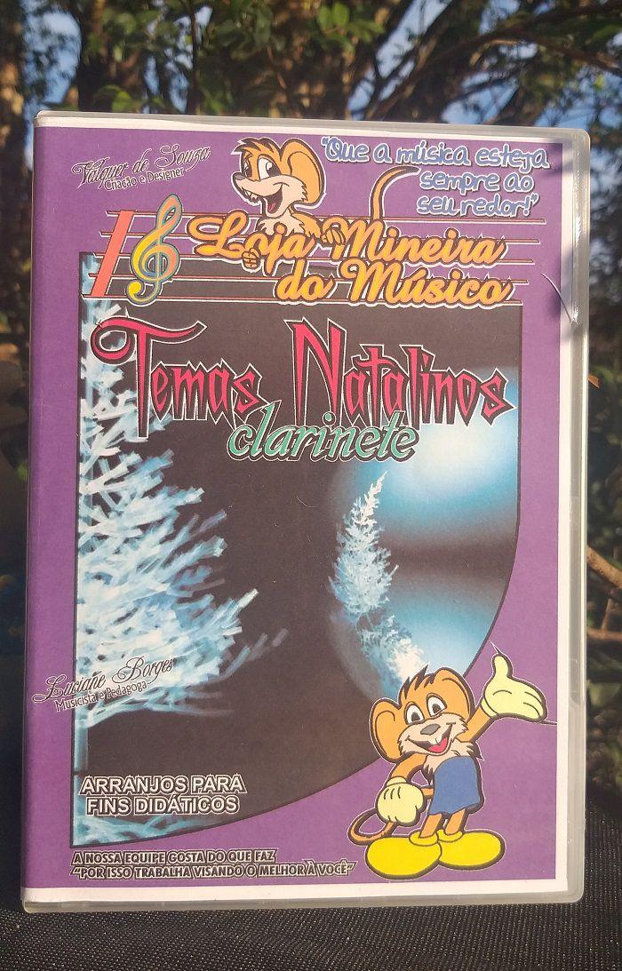 Clarinete Partituras de Natal com Midi e MP3 Playbacks Natalinos