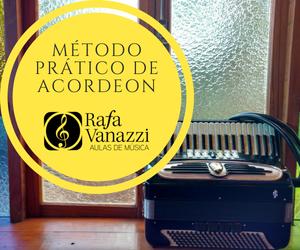 Curso de Sanfona Acordeon por Videos e Whats Rafa Vanazi Indicação Loja Mineira do Musico