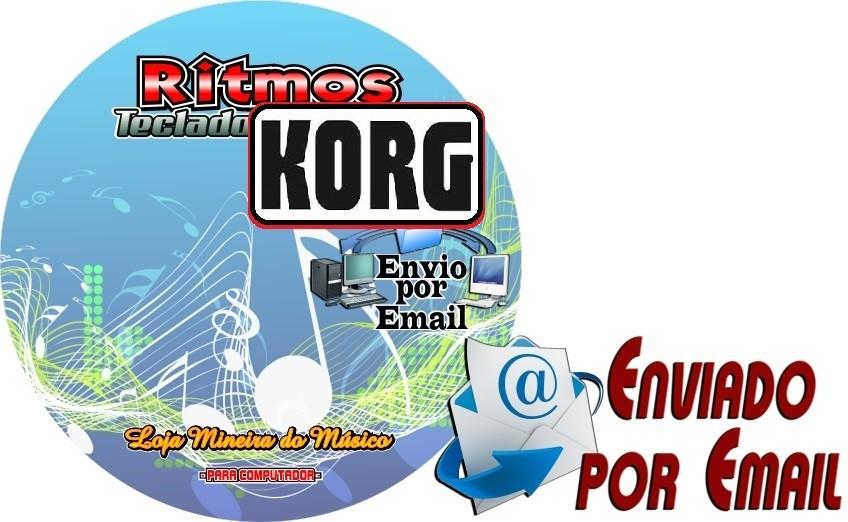 Download de Ritmos para Teclados Korg PA 50, PA 500, PA 600   Coleção 1 com 150 Ritmos para Teclado Korg PA