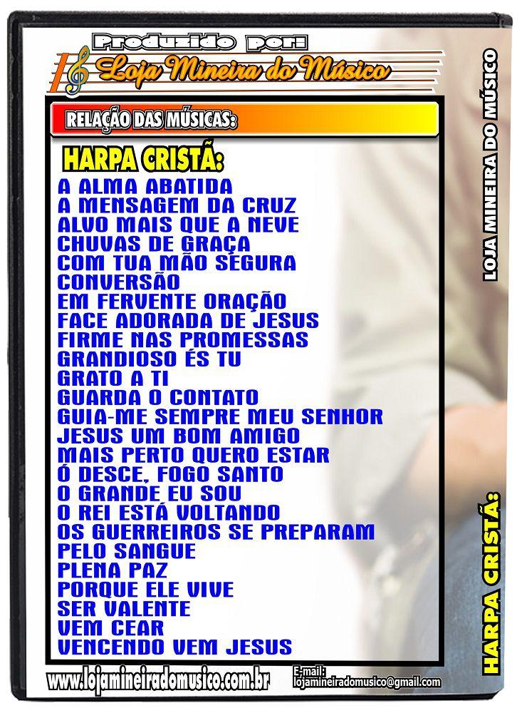 Harpa Cristã Partituras Cifradas com Letras e Áudios das Melodias e Áudios Playbacks MP3 gravados no Violão Acompanhamentos da Harpa | Vinte e Cinco mais pedidos hinos da Harpa Cristã