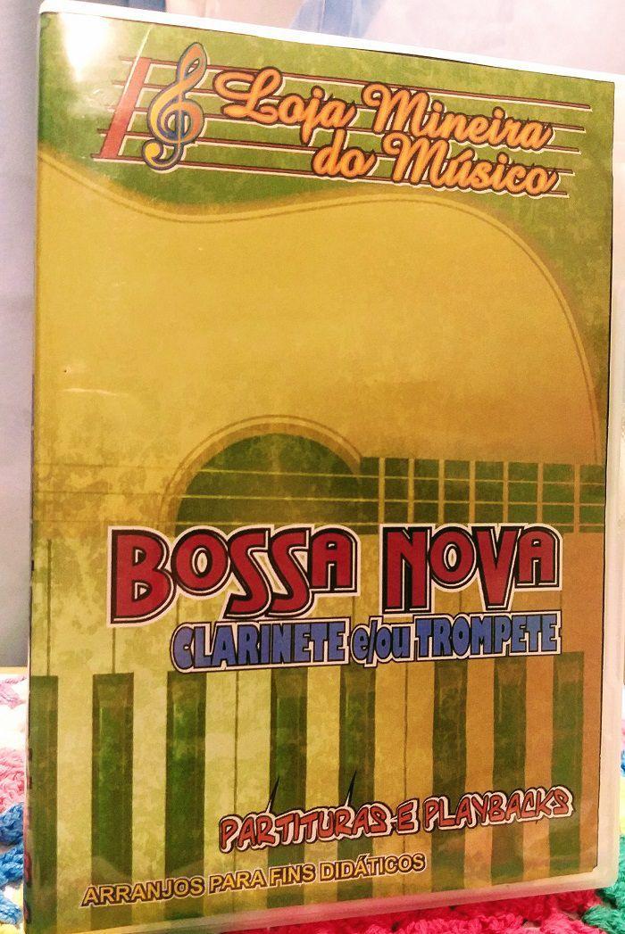 Kit Partituras Populares para Trompete ou Clarinete Partituras Brasileiras e Internacionais ( Bossa Nova e Sambinhas + Internacional de Novelas Flashbacks )