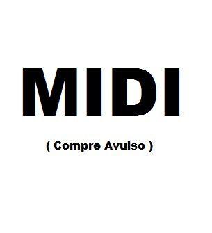 Lista de MIDIS Loja Mineira do Musico | Compre por musica Midi | Pronta entrega | Pacote de 10 Midis a sua escolha na Lista