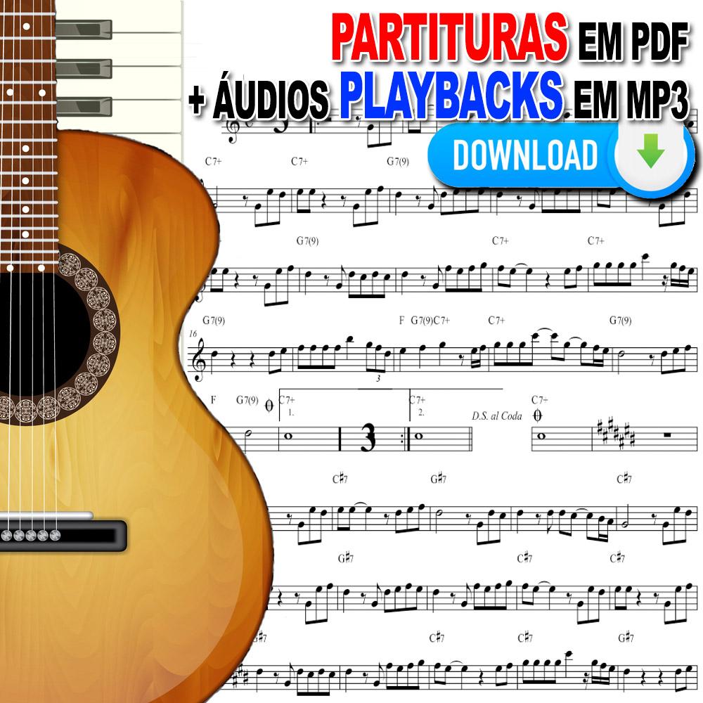 Livro de Partituras no Papel Católicas e Playbacks 1e2