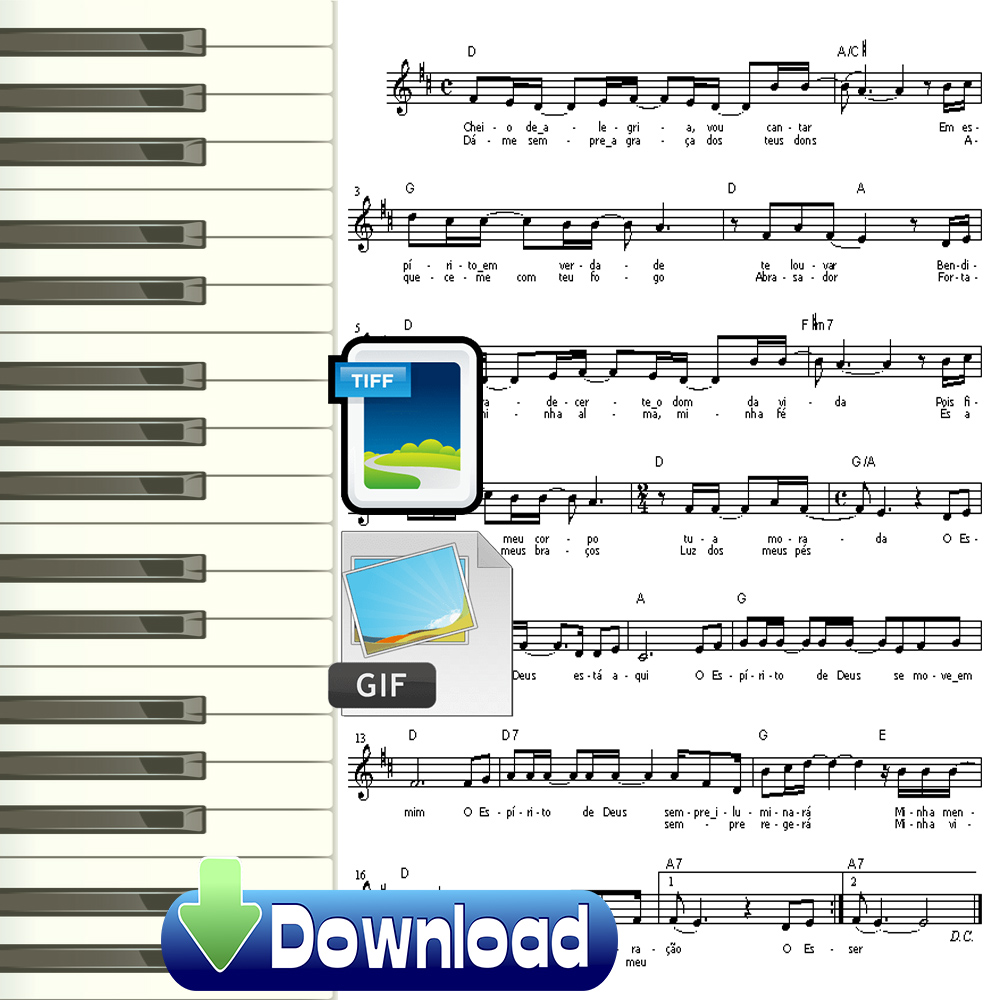 Músicas Católicas 1000 Partituras estilo Louvemos o Senhor Download