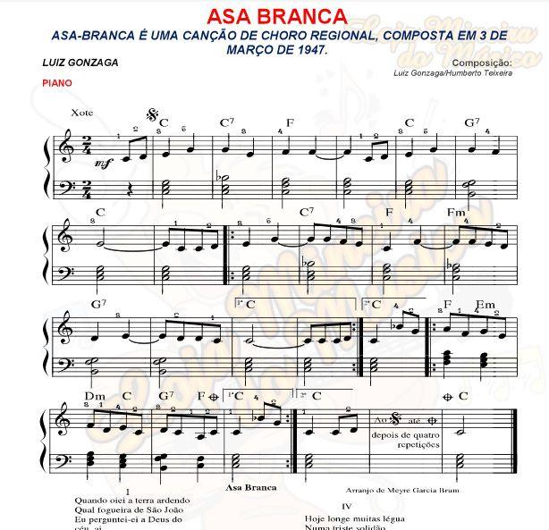 Pacote de Partituras Brasileiras para Piano MPB Meyre Brum Loja Mineira do Musico