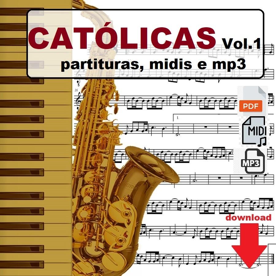 Partituras Católicas Midis e Playbacks Vol.