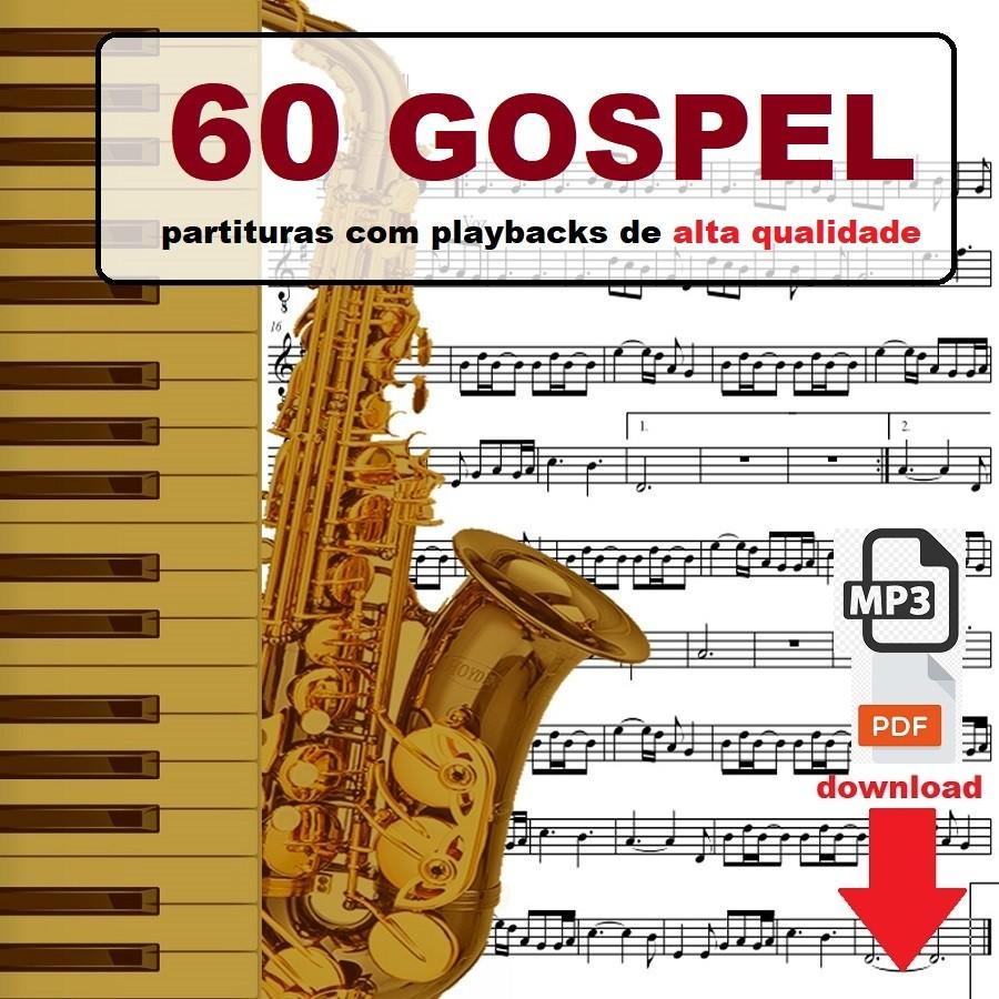 Partituras Gospel 60 Playbacks
