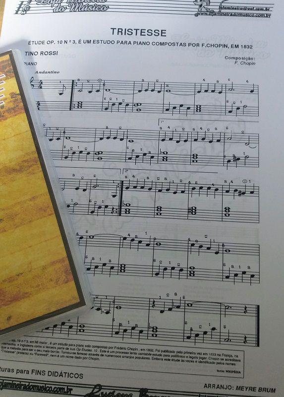 Partituras para Piano Volume 1 (Clave de Sol, Clave de Fá, Cifras e Letras nas Partituras) | Partituras para iniciantes no Piano ( Piano Brasileiras, Boleros, Clássicas e Americanas )
