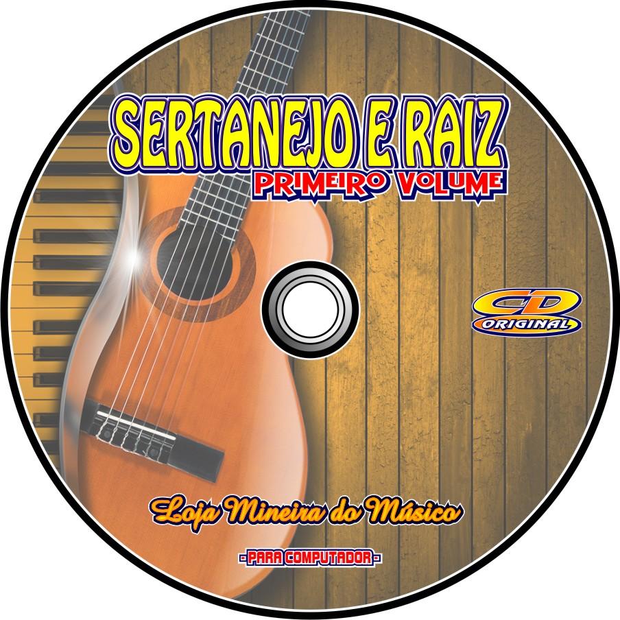 Partituras Sertanejo Raiz com Playbacks em CD (Lançamento)