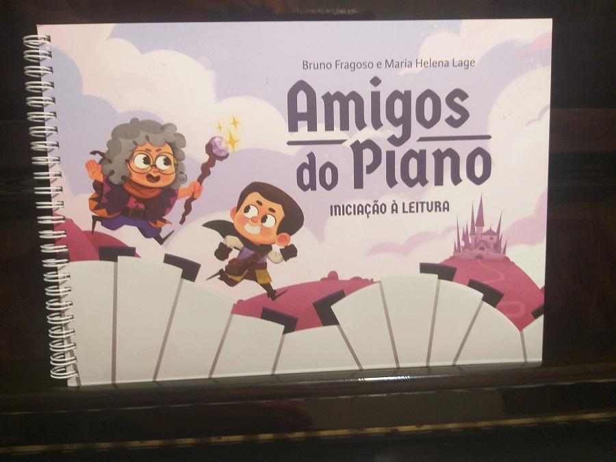 PIANO LIVRO 2 AMIGOS DO PIANO LEITURA Maria Helena Lage e Angelita Ribeiro | Comprar o Livro Amigos do Piano Iniciantes no Piano Musicalização Livro para Professores de Piano