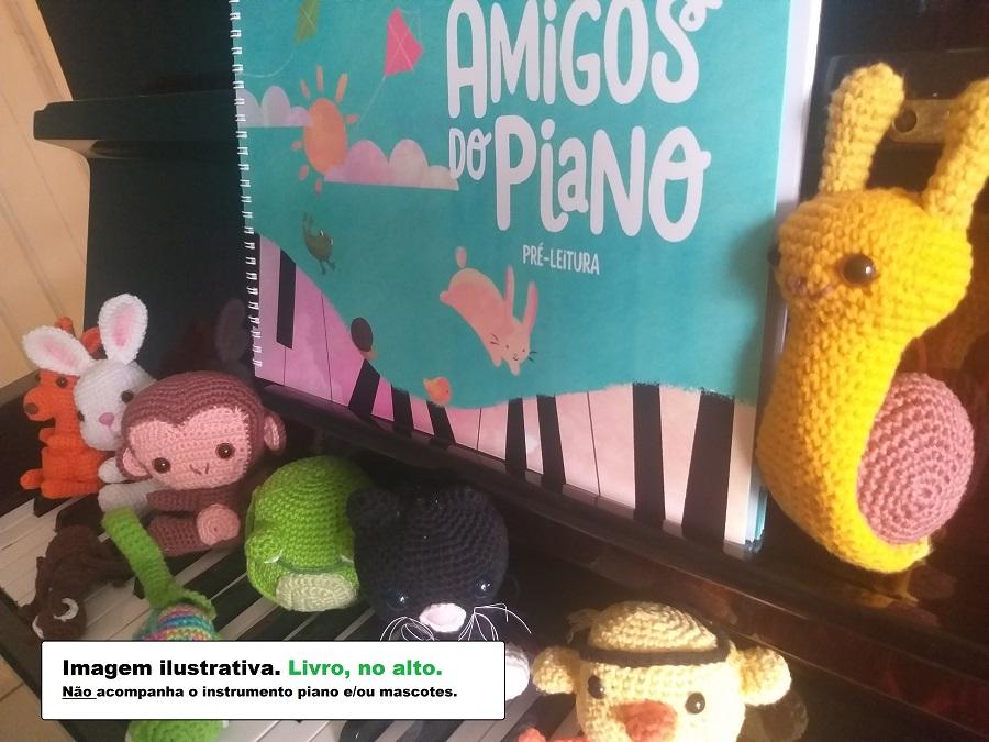 PIANO LIVRO AMIGOS DO PIANO PRÉ LEITURA Maria Helena Lage e Angelita Ribeiro | Comprar o Livro Amigos do Piano Iniciantes no Piano Musicalização Livro para Professores de Piano