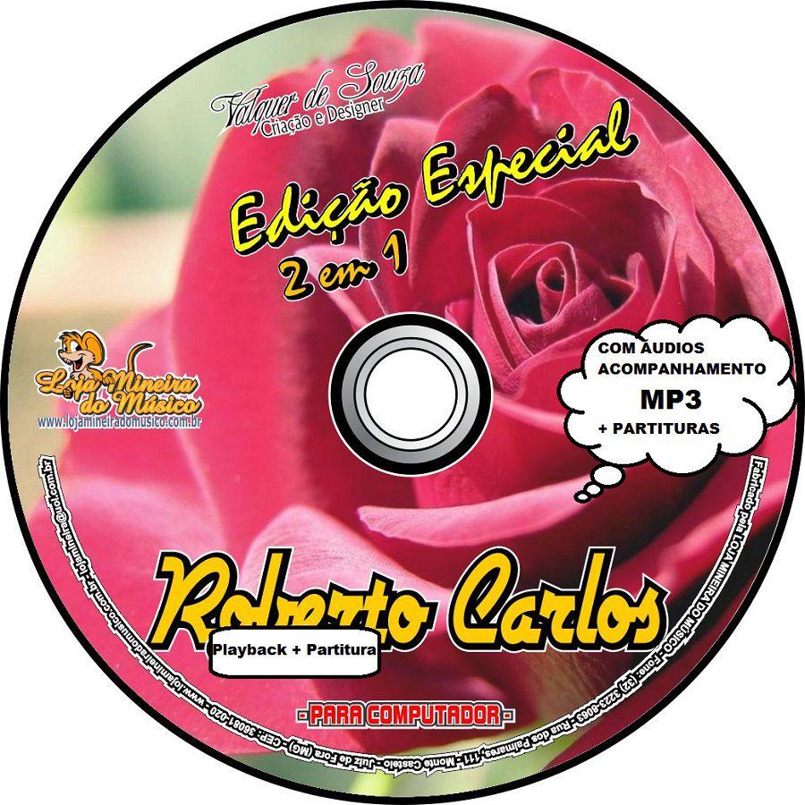Roberto Carlos Partituras Didáticas Estudante com Playbacks MP3 Lançamento Alegre sua Casa | Partitura Roberto Carlos didáticas | Partituras de músicas de Roberto Carlos, com cifras e melodias.