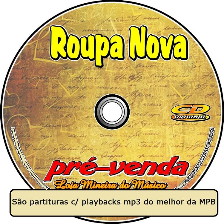 APOSTILA PARTITURAS COM MIDI E PLAYBACKS ROUPA NOVA