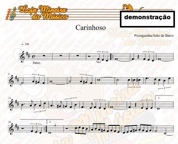 Samba Partituras para Sax Alto Apostila de Partituras em PDF com Playbacks