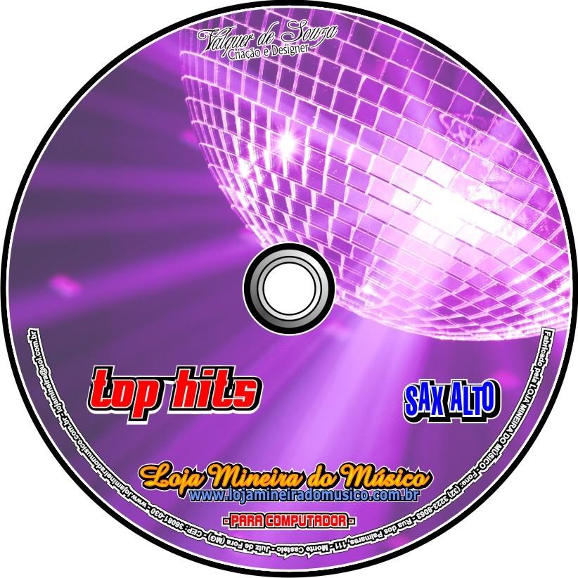 SAX ALTO Partituras Internacionais para Sax Alto com Playbacks Internacionais TopHits