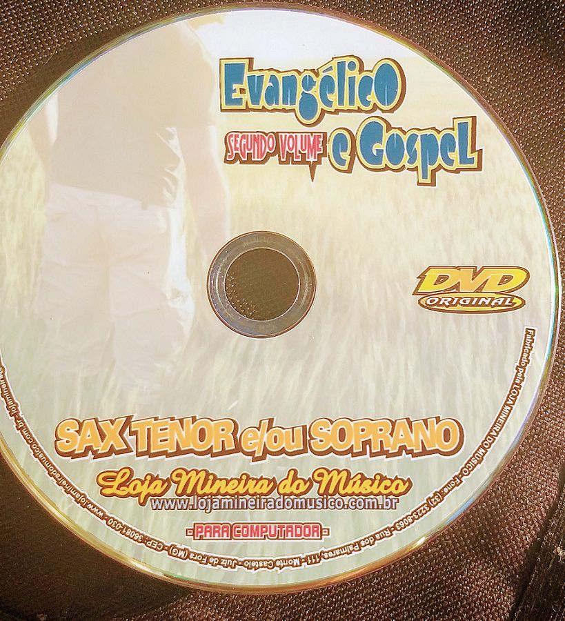 SAX SOPRANO Partituras Evangélicas com Playbacks Gospel (Volume 2) | Hinos Instrumental Gospel para Saxofone Soprano Partituras Gospel para Saxofone em PDF com Playbacks Gospel MP3