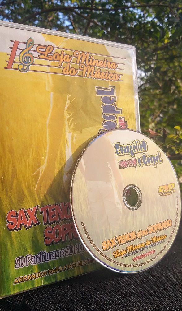 SAX SOPRANO Partituras Evangélicas com Playbacks Gospel (Volume 2) | Hinos Instrumental Gospel para Saxofone Soprano Partituras Gospel para Saxofone em PDF com Playbacks Gospel MP3