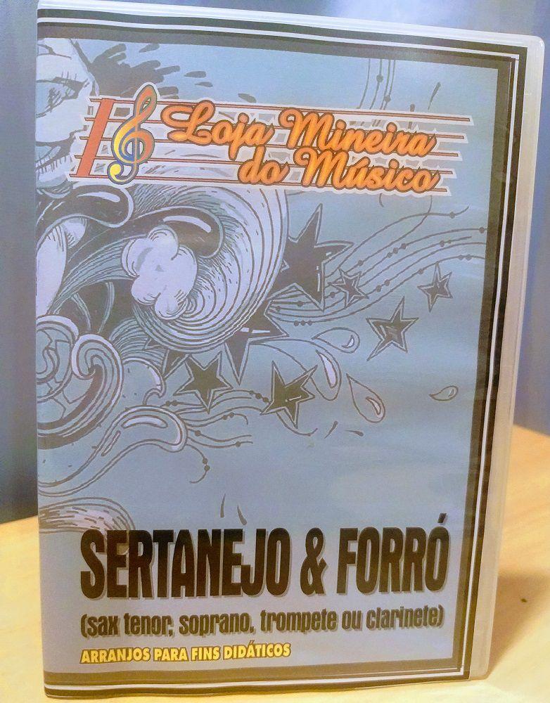 SAX SOPRANO Partituras Sertanejo e Forró com 50 Playbacks Sertanejo e Forró | Sax Soprano Partituras Sertanejas Afinação Si Bemol